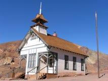 Chiesa del deserto fotografia stock