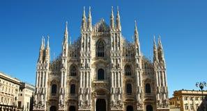 Chiesa del Duomo a Milano, Italia Fotografia Stock Libera da Diritti