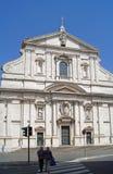Chiesa del Gesu, Il Gesu Royaltyfri Fotografi