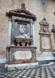 Chiesa del Gesu Nuovo church in Naples, Campania, Italy. Royalty Free Stock Image