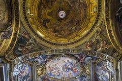 Chiesa del Gesu, Roma, Italia Fotografie Stock Libere da Diritti