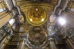 Chiesa del Gesu, Roma, Italia Immagine Stock