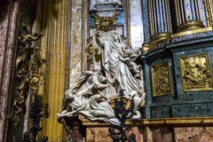 Chiesa del Gesu, Roma, Italia Fotografia Stock Libera da Diritti