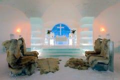 Chiesa del ghiaccio, Sorrisniva Fotografia Stock