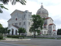 Chiesa del Jesus a Avana, Cuba Immagini Stock