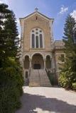 Chiesa del Latrun Fotografia Stock