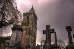Chiesa del maleducato santo in Stirling Scotland Fotografie Stock