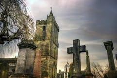 Chiesa del maleducato santo in Stirling Scotland immagini stock libere da diritti