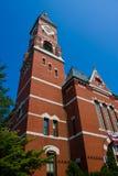Chiesa del mattone rosso Immagini Stock Libere da Diritti
