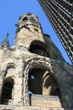 Chiesa del memoriale di Berlino Fotografia Stock
