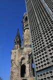 Chiesa del memoriale di Kaiser Wilhelm Fotografia Stock