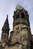 Chiesa del memoriale di Kaiser Wilhelm. Berlino Fotografia Stock Libera da Diritti