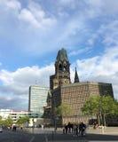 Chiesa del memoriale di Kaiser William Fotografie Stock Libere da Diritti