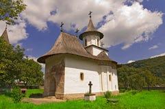 Chiesa del monastero cristiano fotografia stock