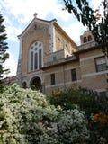 Chiesa del monastero del trappista di Latrun Fotografie Stock Libere da Diritti