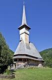 Chiesa del monastero di Barsana Immagini Stock