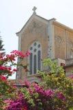 Chiesa del monastero di Latrun, Israele Fotografia Stock