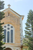 Chiesa del monastero di Latrun, Israele Immagini Stock