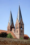 Chiesa del monastero di Neuruppin in Germania immagine stock