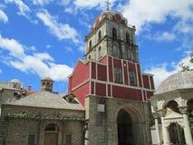Chiesa del monastero sul monte Athos immagine stock libera da diritti