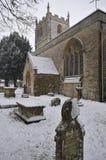 Chiesa del normanno della st Marys Fotografie Stock