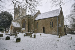 Chiesa del normanno della st Marys Immagine Stock Libera da Diritti