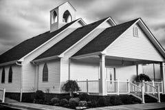 Chiesa 1 del paese Fotografia Stock Libera da Diritti