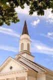 Chiesa del paese anziano Fotografie Stock Libere da Diritti