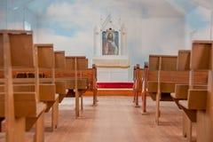 Chiesa del paese di alleluia Fotografia Stock Libera da Diritti