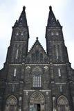 Chiesa del Paul e del Peter a Praga Fotografie Stock Libere da Diritti