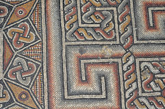 Chiesa del pavimento di mosaico di natività Immagine Stock Libera da Diritti