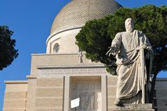 Chiesa del Peter e del Paul santi a Roma fotografia stock