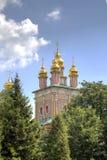 Chiesa del portone di St John Baptist Holy Trinity St Sergius Lavra immagini stock libere da diritti