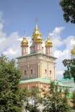 Chiesa del portone di St John Baptist Holy Trinity St Sergius Lavra fotografie stock