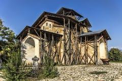 Chiesa del presupposto di vergine Maria benedetto L'Abkhazia L Fotografia Stock Libera da Diritti