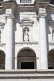 Chiesa del primo piano di Santa Engracia fotografia stock