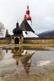 Chiesa del punto di riferimento storico del san Ladislav fotografie stock