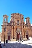 Chiesa del Purgatorio - vin de Marsala, Sicile Image libre de droits