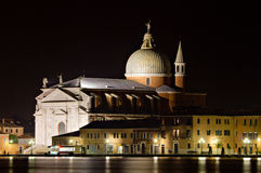 Chiesa del Redentore at night Royalty Free Stock Photos