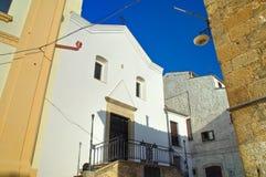 Chiesa del rosario Bovino La Puglia L'Italia Fotografia Stock