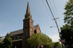 Chiesa del ` s di St Mary - Newport - Rhode Island Immagini Stock Libere da Diritti