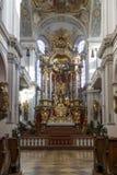 Chiesa del ` s di St Peter a Monaco di Baviera, Germania, 2015 Fotografie Stock