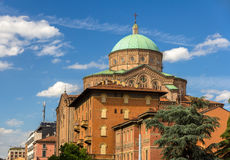 Chiesa del Sacro Cuore in Bologna, Italy Royalty Free Stock Photography