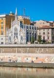 The Chiesa del Sacro Cuore di Gesù in Prati, also known as Chiesa del Sacro Cuore del Suffragio. Rome, Italy,. The Chiesa del Sacro Cuore di Gesù in Prati Royalty Free Stock Photo