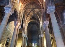 Chiesa del Sacro Cuore di Gesu av Gallipoli Puglia Italien Arkivfoton