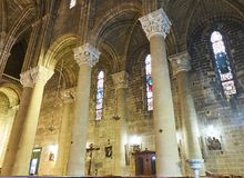 Chiesa del Sacro Cuore di Gesu av Gallipoli Puglia Italien Royaltyfri Fotografi
