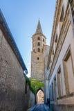 Chiesa del Saint Michel Castelnaudary - in Francia Immagine Stock