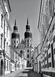 Chiesa del Saint Nicolas in Trnava Fotografia Stock