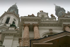 Chiesa del salvatore più santo a Varsavia Immagini Stock