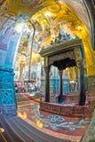 Chiesa del salvatore su anima rovesciata Baldacchino sopra il sito di Fotografia Stock Libera da Diritti